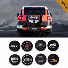 "Spare Tire Cover 27/""-29/"" For Jeep Hummer Toyota RAV4 Skull Tire Cover Vinyl HD"