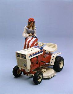 "Spirit of ""76"" Small Tractors, Compact Tractors, Old Tractors, Lawn Tractors, Wheel Horse Tractor, Tractor Mower, Antique Tractors, Vintage Tractors, Triumph Motorcycles"