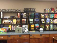 Classroom library idea.