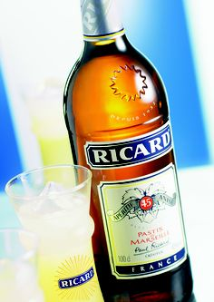 Ricard - love what happens when you mix this with I've and water.