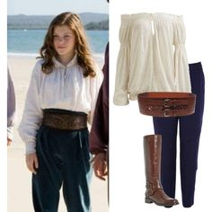 Voyage of the Dawn Treader: Lucy Pevensie Lucy Pevensie, Narnia Lucy, Lucy Costume, Narnia Costumes, Georgie Henley, Medieval Costume, Chronicles Of Narnia, Casual Cosplay, Character Outfits