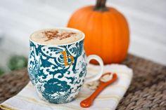 Homemade Pumpkin Spice Latte #Healthy