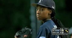 A 13-year-old girl from Philadelphia is making history! Monet Davis is now the 17th girl to make it to the Little League World Series in its 68-year-history. There are other co-ed Little League teams, but Monet is the only girl on her team.  She has a 70 mph fastball and struck out 6 players in Sunday's (August 2014) game..