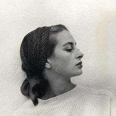 Inspiration || Capucine in the 1960's #bandana #timelessbeauty