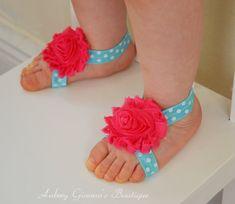 Sandalias Descalzas bebé sandalias sandalias de por AubreyGianna