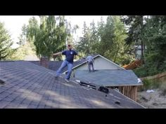 This Dancing Roofer Is The Happiest Thing You'll See All Weekend