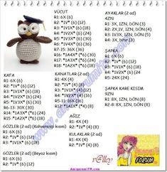 tejer amigurumi juguetes: Amigurumi Animals