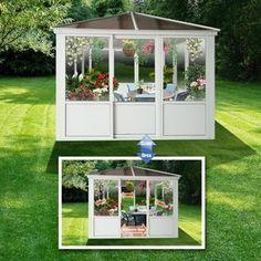 Bilde av Lyon Polycar Hvit 3x3m Lyon, Garden, Pictures, Garten, Gardening, Outdoor, Home Landscaping, Tuin, Gardens