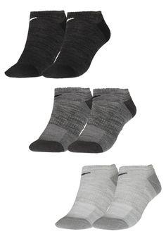 Kit 3pçs Meia Nike Everyday Cush Cano Baixo Branca