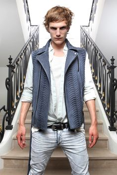 Balmain Spring 2012 Menswear Fashion Show