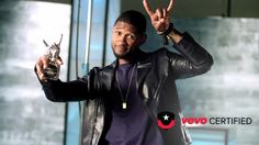 "Congratulations to our newest #VevoCertified artist, Usher! ""DJ Got Us Fallin' In Love"" is over 100 million views! The award wouldn't exist without you, the fans. Usher's giving back the love with exclusive commentary and interviews. Watch 'em all right here!"