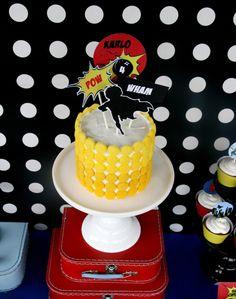 Macs on Cake