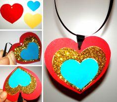 Colier cu inimioare 1 Decembrie, Blog, Jewelry, Art, Ideas, Gifs, Dress, Art Background, Jewlery