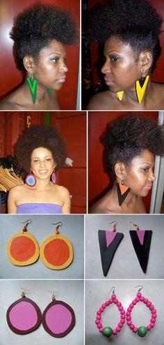 Pin-up (Natural Hair)