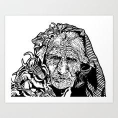 Indira Art Print by Moonwalker - $15.60