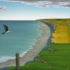 Hamish Allan: New Zealand Landscape Artist Landscape Art, Landscape Paintings, Abstract Paintings, New Zealand Landscape, New Zealand Art, Nz Art, Maori Art, Wall Art For Sale, Nature Scenes