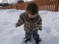 Honey Nutbrown's: Knitting!: Northern Whale Cowichan Sweater - Toddler's…