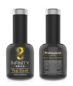 INFINITY NAILS No Wipe Top coat nail gel polish Infinity Nails, Gel Polish Brands, Nail Base Coat, Neon Nails, Uv Led, Top Coat, Gel Nail Polish, Smudging, Nail Colors