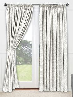 Petiole Frost Curtains from Curtains 2go