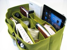Bag organizer.