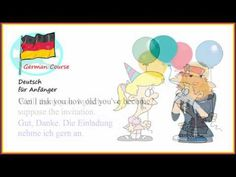 German Course 38 Geburtstag   Deutsch für Anfänger German Course, Family Guy, Youtube, Fictional Characters, 38th Birthday, Fantasy Characters, Youtubers, Youtube Movies, Griffins