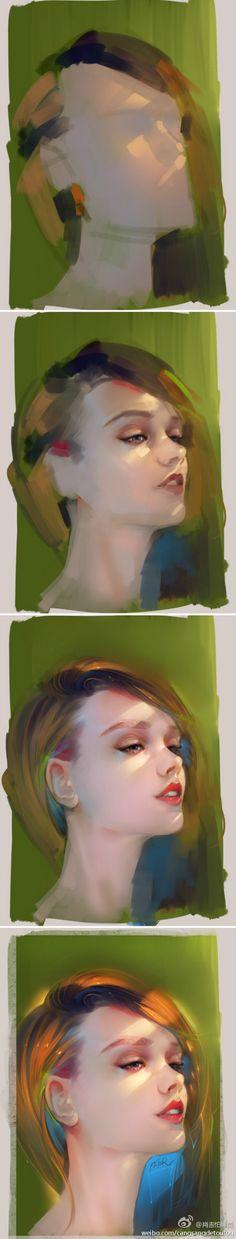 T I M E L A P S E Painting