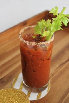 Start your day with this Virgin Bloody Mary.