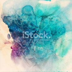 Vintage abstract hand drawn watercolor background Royalty Free Stock Photo