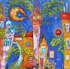 Fairytale night Town
