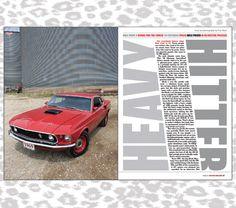 Car Magazine Feature Spread #editorial #design #magazine #car