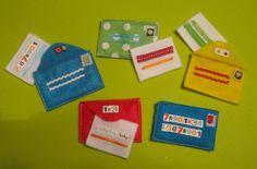 quiet book felt pages templates | Mailbox & Letters Quiet Book Page
