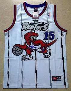 51ac32358abd Toronto Raptors 15 Vince Carter Swingman Jersey White Retro Nba Jerseys