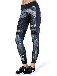 Mecha Ninja Pants (US ONLY $95USD) by Black Milk Clothing