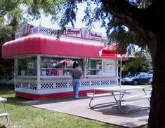 Nancy's Ice Cream on Washington Ave. in Colonial Beach