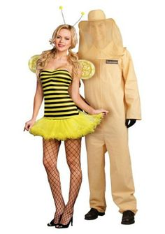 Couples Costumes: Bee and Beekeeper