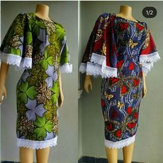 Beautiful and Classical AsoebI Collections - Reny styles African Print Fashion, Africa Fashion, Fashion Prints, African Wear Dresses, African Attire, African Clothes, Ankara Gowns, Ankara Dress, Short Gowns