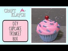 How to use resin to make a cupcake box... Craft Klatch: Resin Cupcake Trinket Box