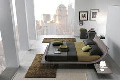 Modern Room: 56 Ideas for Deco Design Modern Room Design, Wood Bed Design, Home Design, Furniture Design, Design Ideas, Inspiration Design, Furniture Showroom, Luxury Furniture, Contemporary Bedroom