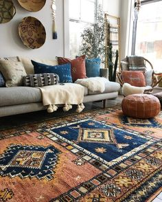 57 Inspiring Bohemian Living Room Design Ideas For Your Home boho decorations, bohemian living room, boho interior designs, mid century modern living room, ancient living room decors. - Add Modern To Your Life Boho Living Room, Moroccan Decor Living Room, Moroccan Rugs, Modern Moroccan Decor, Moroccan Interiors, Living Room Rugs, Bohemian Living Spaces, Bohemian Rug, Modern Bohemian Decor