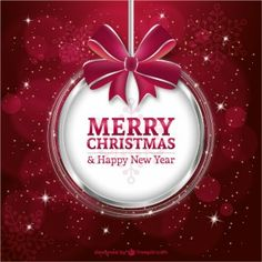 Merry Christmas Vectors, Photos and PSD files Merry Christmas Vector, Merry Christmas And Happy New Year, Merry Xmas, Christmas Greetings, Happy Holidays, Christmas Bunting, Outdoor Christmas, Christmas Art, Christmas Decorations