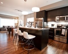 Modern Kitchen Design, Pictures, Remodel, Decor and Ideas - page 4
