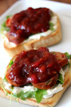 Sweet and Spicy Tuscan Tomato Jam      I love recipes that look and sound fancy, even though they're SUPER easy to make.   Tomato jam ...