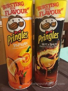 GLOBAL GRUB - Paprika Pringles and Hot & Spicy Pringles (Italy)