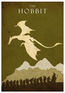 "Quaint and Curious: ""The Hobbit"" Minimalist Posters"