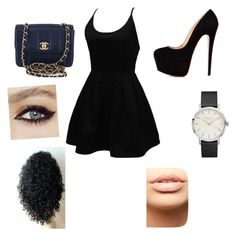 """""""Untitled #46"""" by shiyfashionista on Polyvore featuring WithChic, Chanel and MDMflow"""