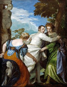 'The Choice Between Virtue and Vice' (ca.1565) by Paolo Veronese