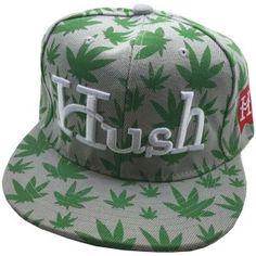 Marijuana Hush Snapback