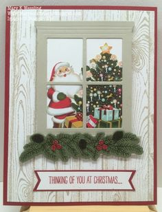 Mary's Craft Room: Hearth and Home with Festive Fireplace