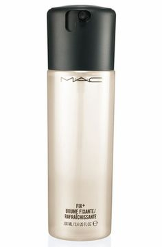 MAC Fix+. love it! I have very dry skin from wearing makeup. the product sets my makeup keeping me from having a cakey look to my skin. USE before and/or after.