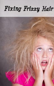 Check out these home remedies for fixing frizzy hair, like using a ceramic flat iron!